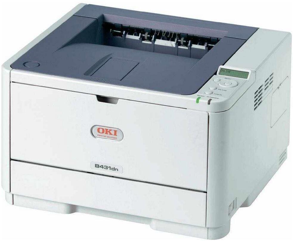 Oki B431dn OKI B431dn   monochromer Netzwerk Laserdrucker mit Duplex für 163,50€