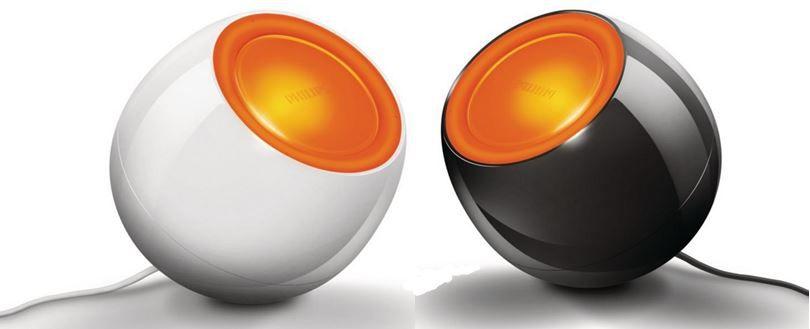 Philips2 Philips Livingcolors Mini LED Leuchte in schwarz und weiß für je nur 24,95€