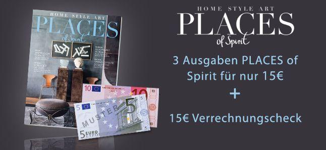 Places of Spirit 3 Ausgaben von Places of Spirit kostenlos abstauben