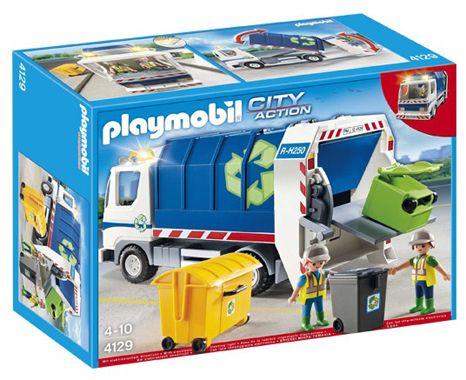 Playmobil 4129 Recycling Fahrzeug mit Blinklicht für 25,94€ (statt 36€)