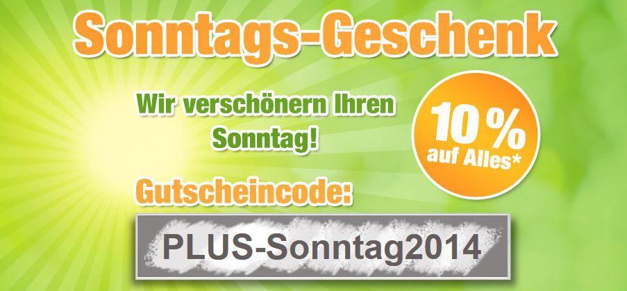 Plus Plus.de   nur heute 10% Rabatt auf fast alles   z.B. Einzelcarport Eco 1 statt 492€ für 242,96€