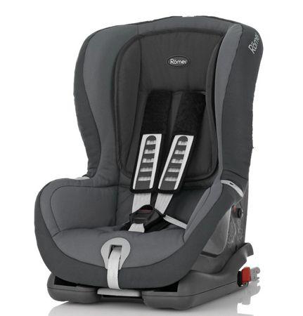 Römer Autositz DUO plus (Gruppe 1 (9 18kg), Kollektion 2014, Stone Grey) für 179€ (statt 218€)