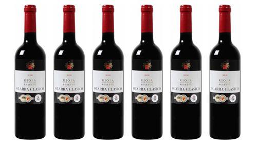 6 Flaschen Bodegas Olarra   Rioja DOCa Reserva Rotwein für 32€