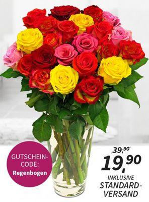 Rosen Rallye: mindestens 14 Rosen für nur 19,90€   bis zu 24 Rosen möglich