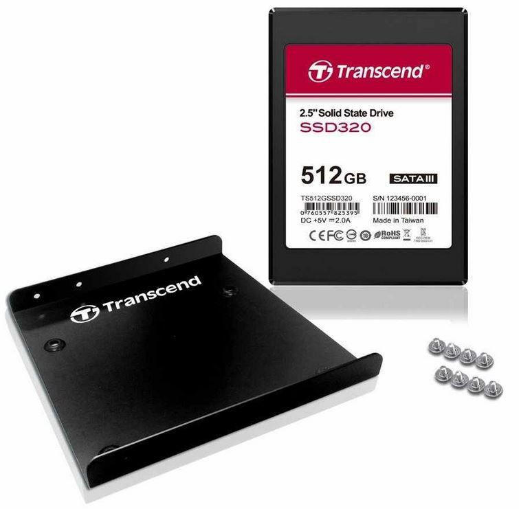Transcend SSD370   interne SSD mit 512GB für 164,99€   Update