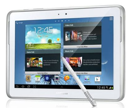 Samsung Galaxy Note 10.1 Samsung Galaxy Note 10.1 GT N8020   10 Zoll Tablet als Demoware mit WiFi + 4G für 259€