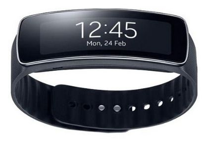 Samsung Gear Fit SmartWatch (SM R350) statt 119€ für 93,24€   Update