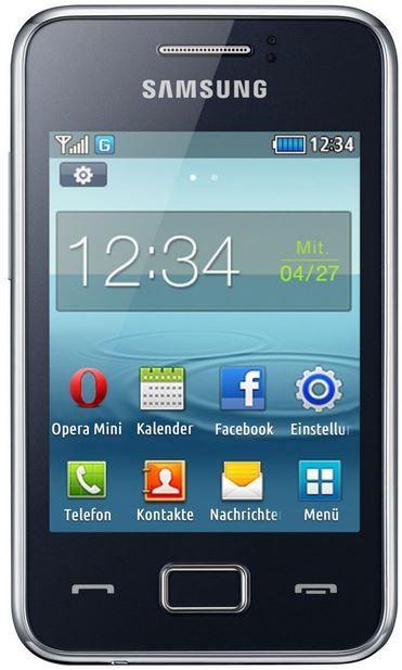 Samsung Rex 80   kompaktes Smartphone für 39,99€