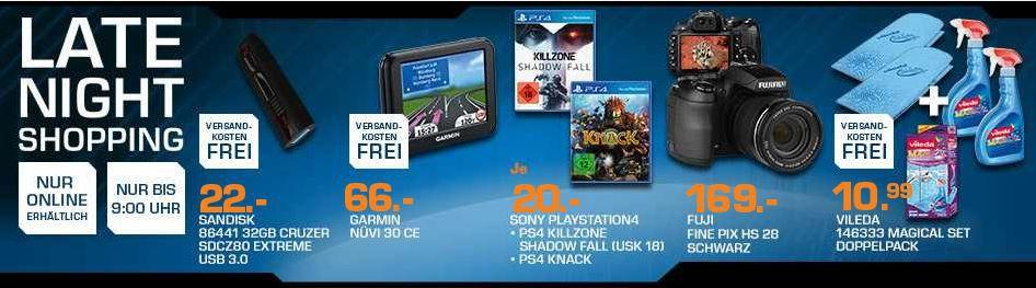 Killzone: Shadow Fall für PS4 ab 20€   und mehr Saturn Late Night Sale Angebote