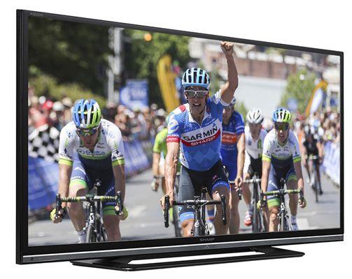 Sharp LC 42LD264E   42 Zoll LED Fernseher (Full HD, 100Hz, Twin Tuner, USB Mediaplayer) für 287,89€
