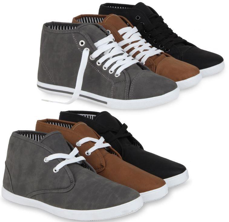 Sneaker Mens Special 99574   sportliche Herren Sneaker in Lederoptik für je 14,90€