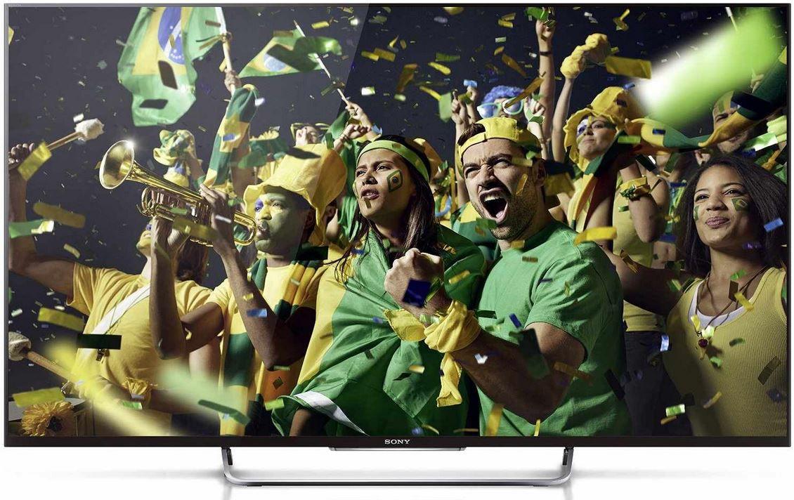 Sony KDL 55W805A   55 Zoll 3D TV mit X Reality PRO und One Touch Mirroring mit NFC für 743,26€