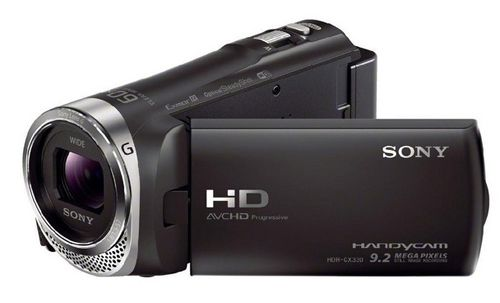 Sony HDR CX330E Full HD Camcorder mit WiFi/NFC für 204,98€