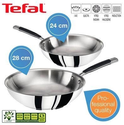 Tefal Gourmet Series Set – Zwei Pfannen (24/28 cm) für 55,90€