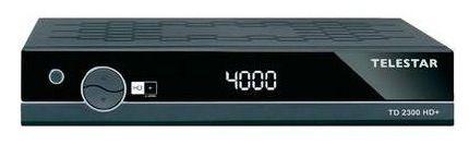 Telestar TD 2300 HD+ SAT Receiver Telestar TD 2300 HD+ SAT Receiver inkl. HD+ Empfangs Karte für 58,50€ (statt 71€)
