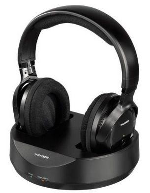 Thomson WHP3001BK Funk Kopfhörer für 33€