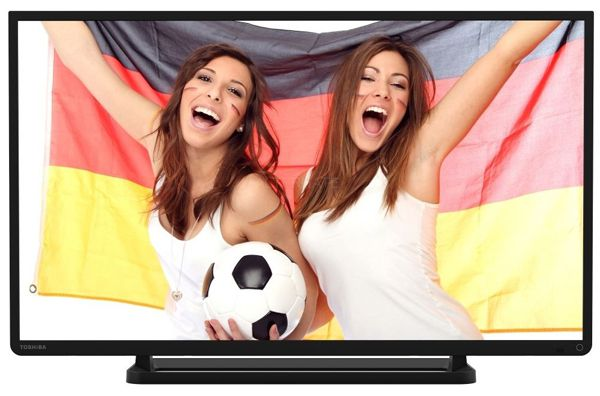 Toshiba 40L2434DG   40 Zoll LED TV (A+, 200Hz, Full HD, USB) für 299€