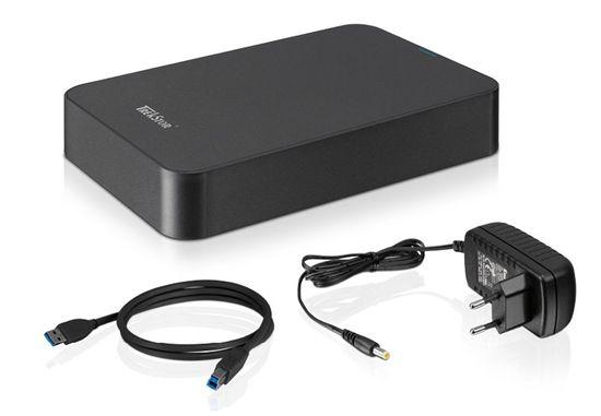 Trekstor DataStation maxi pace 3.0 Festplatte (3,5 Zoll, USB 3.0, 5.400 U/min, 3 TB) für 69,90€ (statt 99€)