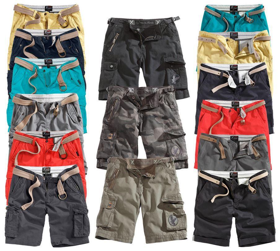 SURPLUS   15 verschiedene Herren Shorts für je 22,90€
