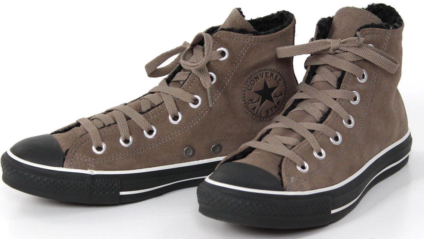 Vans Converse Chuck Taylor All Star Shearling   Herren Winterschuhe für je Paar 29,95€ inkl. Versand