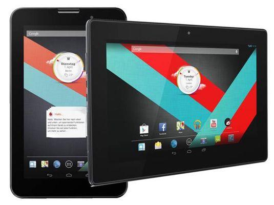 Vodafone Smart Tab 3 Vodafone Smart Tab 3   10 Zoll Tablet mit WLAN + 3G (Demoware) für 129€ (statt 200€)