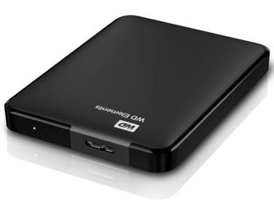 WD Elements Portable WD Elements Portable 1,5TB Festplatte mit USB 3.0 für 59€