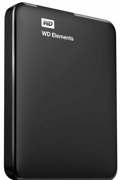WD Elements Portable Festplatte 1TB   2,5 Zoll mit USB 3.0 für 49,95€ (statt 57€)