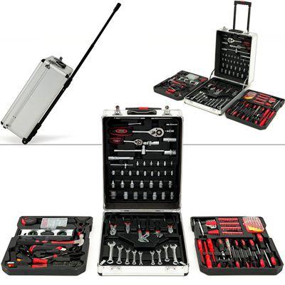 Werkzeugset mit 293 Teile als Trolley für 69,99€