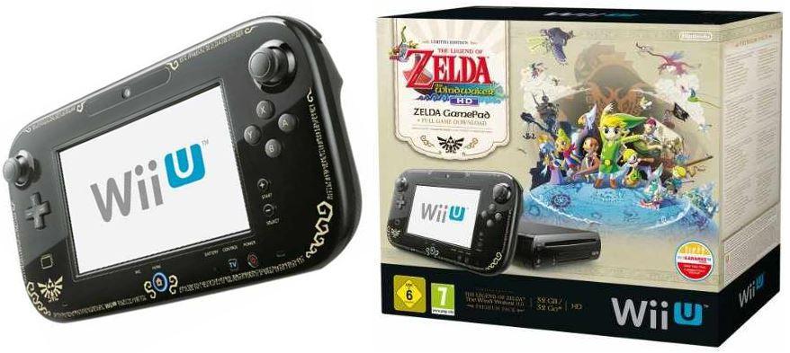 Wii U im Premium Pack + The Legend of Zelda Wind Waker HD für 239,90€   Update