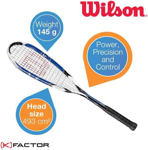 Wilson K 145 Squashschläger für 35,90€