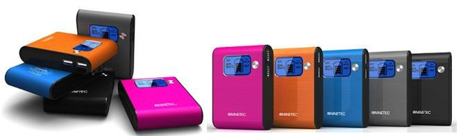 Wow NINETEC NT 565   10.000mAh mobile Akku Power Bank für 19,99€