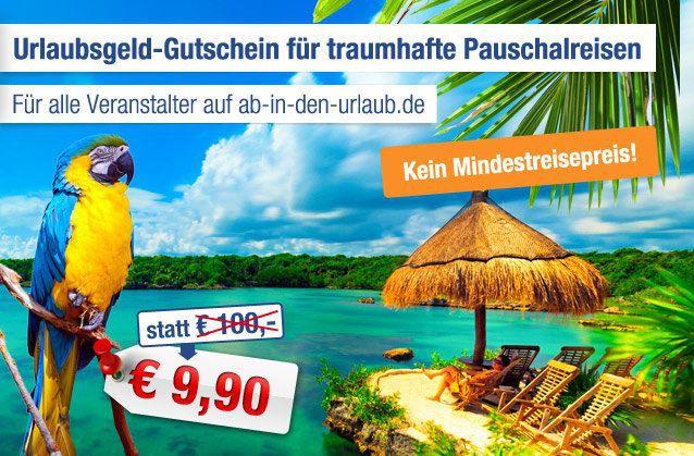 aidu 100€ Reise Gutschein ohne Mindestreisepreis für 9,90€   Update!