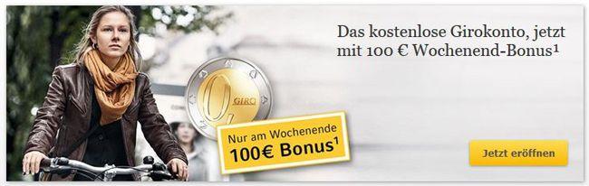 commerzbank1 Commerzbank Neukunden Wochenend Aktion mit 100€ Startguthaben