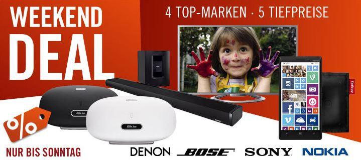 BOSE CineMate 1SR   Soundbar mit Subwoofer statt 1.333€ für 1.111€ und mehr Cyberport Weekend Deals   Update