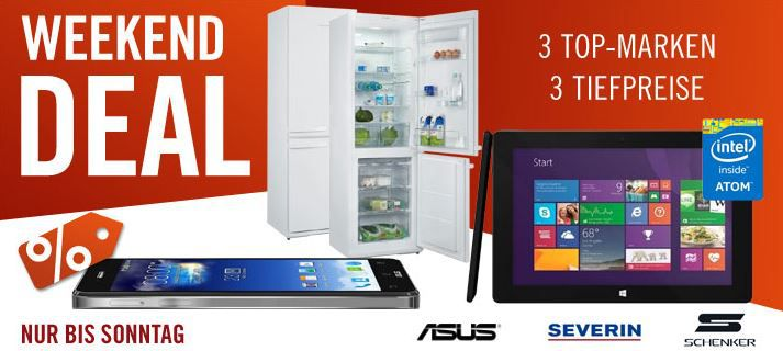 ASUS New Padfone   Smartphone für 349€ und mehr Cyberport Weekend Deals