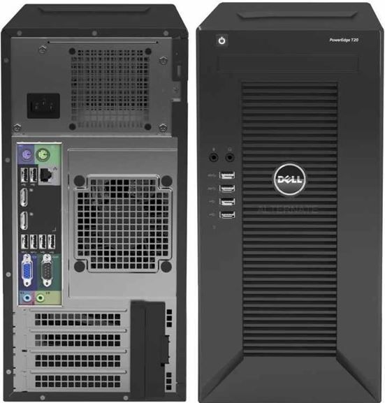 dell DELL PowerEdge T20 PC Mini Tower Server Quad Core Intel Xeon E3 1225 für 249,90€