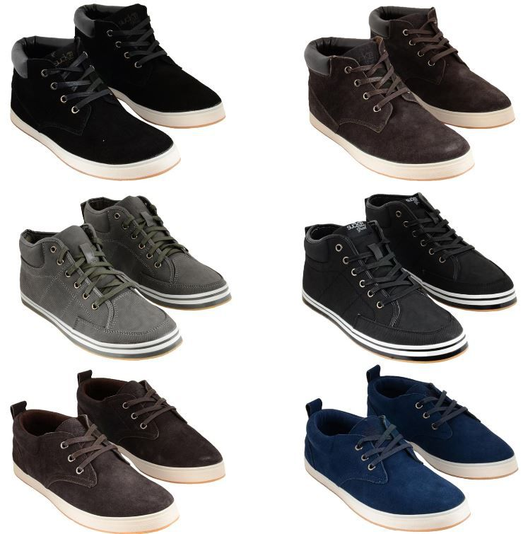 Sucker Grand   Herren Leder Sneaker Low und High Cut bis Gr. 46 für je Paar 16,90€   Update!