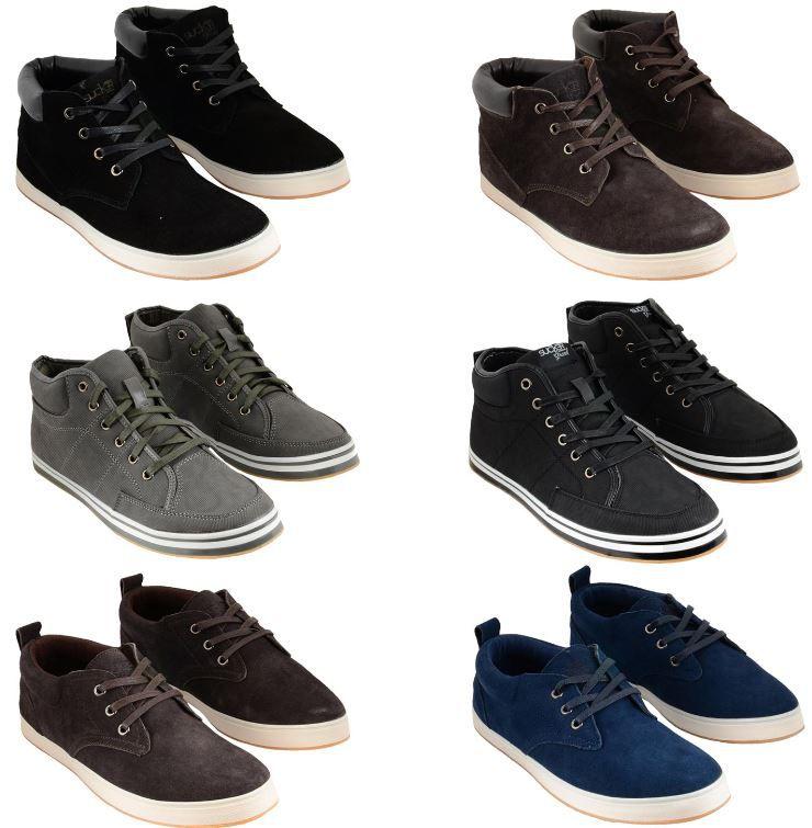 Sucker Grand   Herren Leder Sneaker Low und High Cut bis Gr. 46 für je Paar 16,90€   Update!