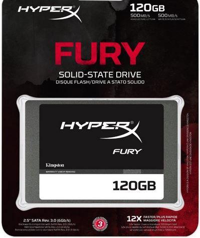 Kingston SHFS37A   120GB interne SSD mit max 500 MB/s für 59€