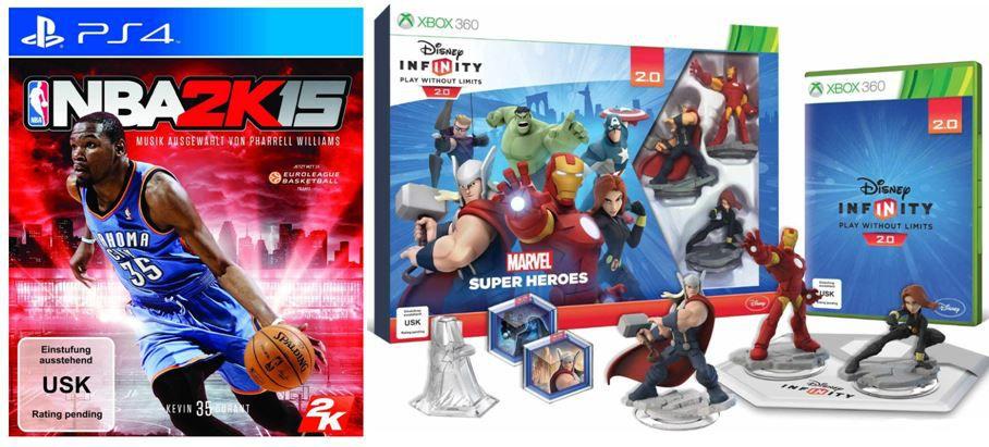 games NBA 2K15 PC für 19,95€ beim Tag 3 der Amazon Gamescom Angebote!