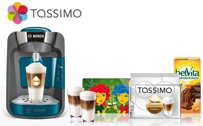 groupon Bosch TAS3205 Tassimo Sunny   mit reichlich Zubehör ab effektiv 29,99€ inkl. Versand