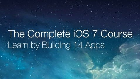 Komplett kostenloser iOS 7 Programmierkurs mit über 350 Step by Step Videos