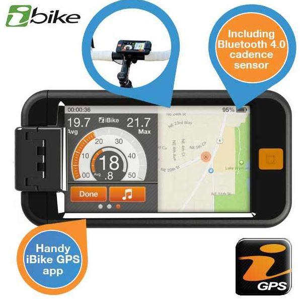 ibike  iBike GPS + Fahrradcomputer für iPhone für 35,90€   Update!