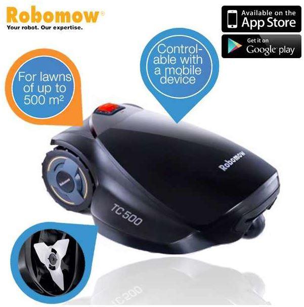 Robomow TC500   Roboter Rasenmäher für 808,90€