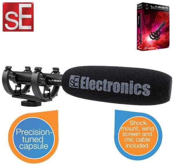 ibood4 sE Electronics ProMic Laser Shotgun Mikrofon   geeignet für SLRs für 75,90€