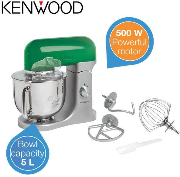 kenwood Kenwood kMix KMX95   500W Küchenmixer mit reichlich Zubehör für 188,90€   Update!