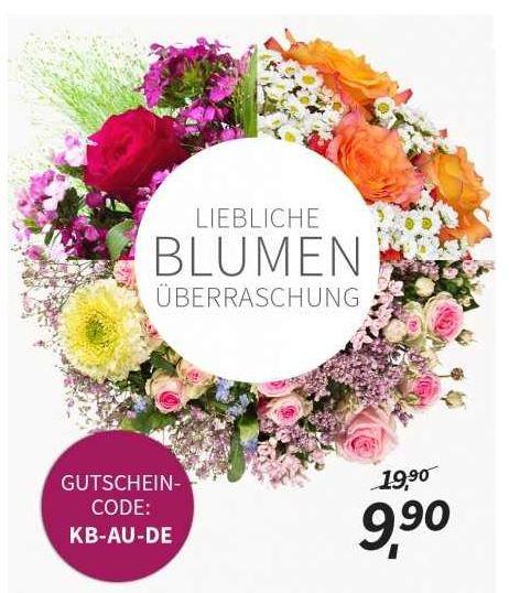 miflora Miflora Überraschungs Blumenstrauß für 9,90€ + 5,90€ Versand