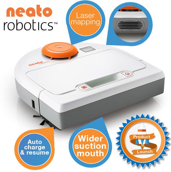 neato Neato Botvac 70e   Staubsaugerroboter für 378,90€   Update