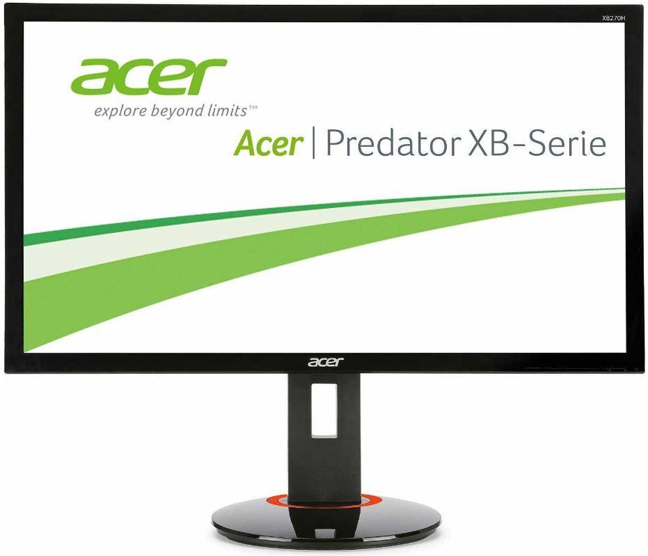 Acer Predator XB270Hbmjdprz   27 Zoll 3D fähiger Top Gamer Monitor für 301,99€   Update