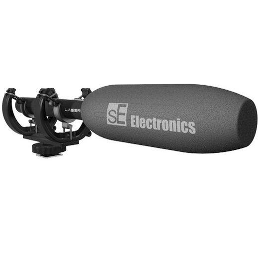 sE Electronics ProMic Laser Shotgun Mikrofon   geeignet für SLRs für 45,90€ (statt 89€)